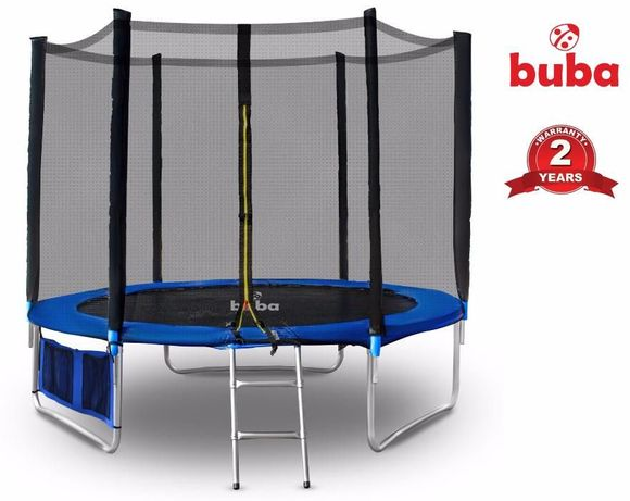 НА СКЛАД ! Buba Детски батут 10FT (305 см) с мрежа и стълба