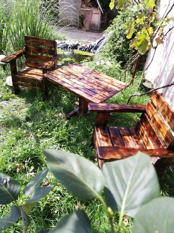 Mobilier terasa sau curte lemn masiv