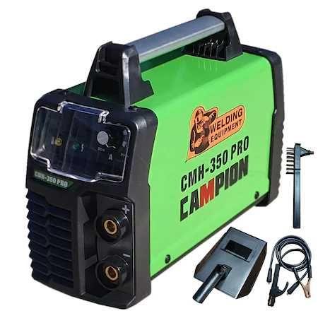Invertor pentru sudura Campion CMH-350Ah , Afisaj Electronic+ accesori