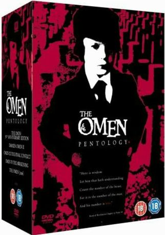 Filme DVD Horror The Omen 1-5  ( Originale )