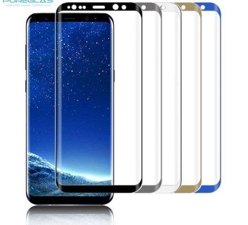Стъклен протектор за Samsung Galaxy S8 S9 S10e S10 Note 8 9 ( 3D 4D)