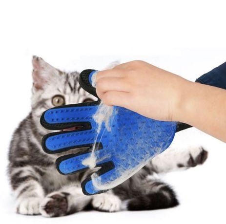 Mănușa pentru periat și spălat animale
