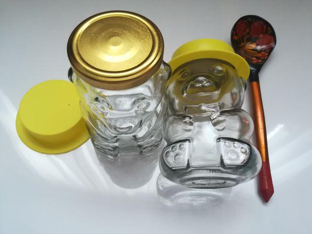 Set borcane sticla miere colecție