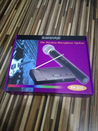 Microfon shure 200
