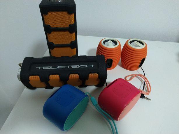 Boxe bluetooth  sony/teletech/Philips și vibe100