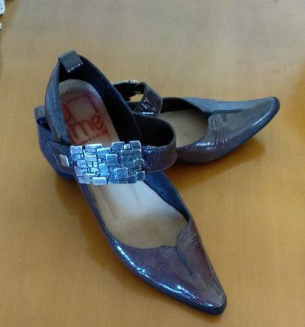Дамски обувки естествен лак Флавия
