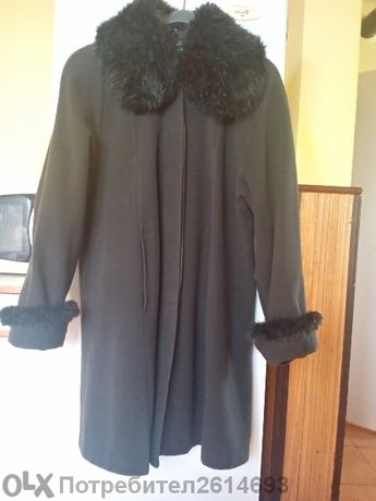 """продавам дамско палто на """"ревю"""""""