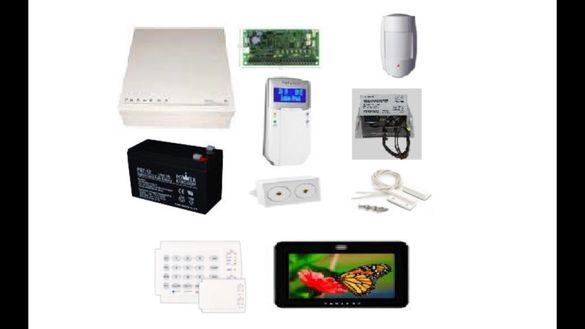 Монтаж на системи за сигурност, видеонаблюдение, пожароизвестяване