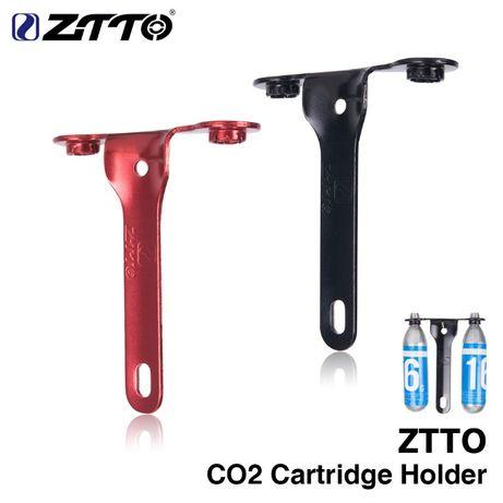 Ztto suport cartus tuburi CO2 aluminiu suport bidon apa bicicleta