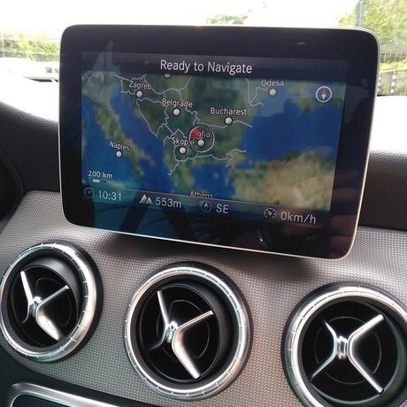 СД карти за навигация Мерцедес Mercedes Garmin Map Pilot, BECKER, NTG
