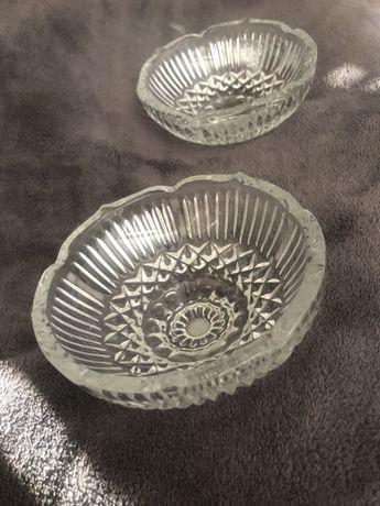 Две купички от оловен кристал