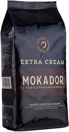 Кафе на зърна Mokador Extra Cream