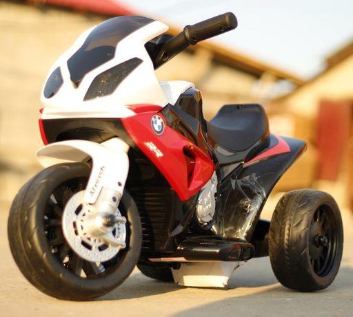 Mini Motocicleta electrica pentru copii BMW S1000RR 1x 12W #Rosu