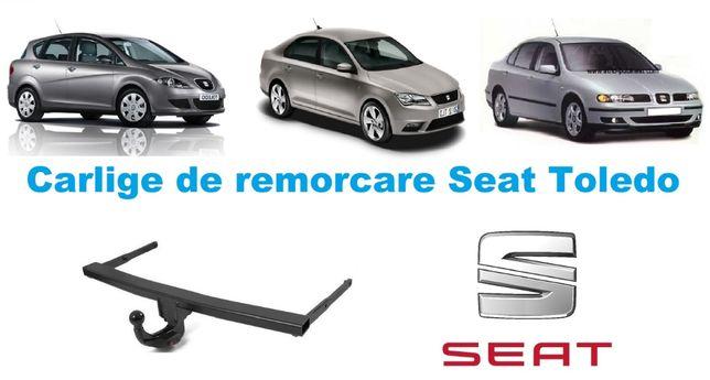 Carlige de remorcare omologate RAR Seat Toledo - 5 ani garantie