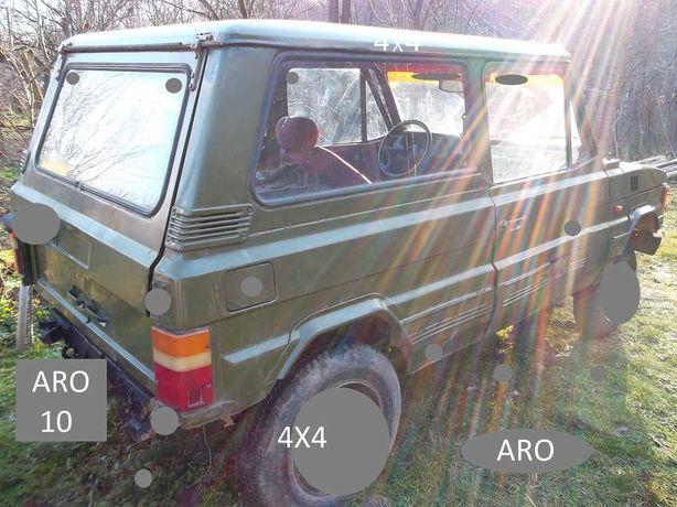 Piese ARO 10 provenite din dezmembrarea unui auto.