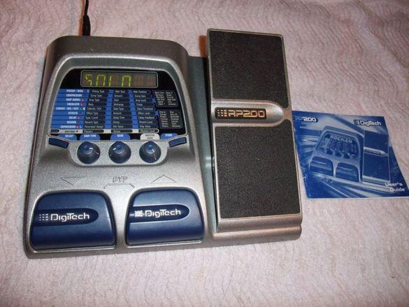 Аудио Процесор DigiTech RP200 за китари и микрофони