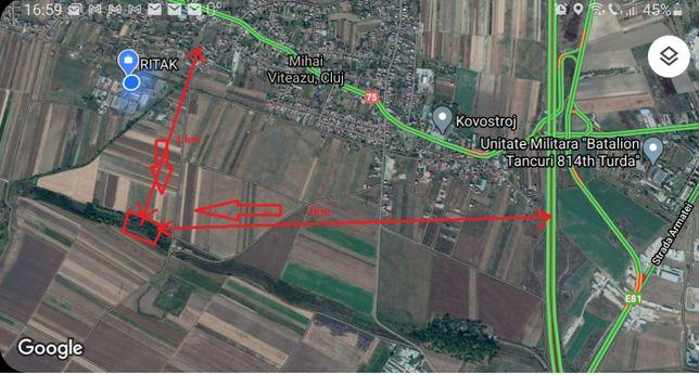 Teren intravilan parcelat , 15.000mp cu CF in Mihai VIteazu