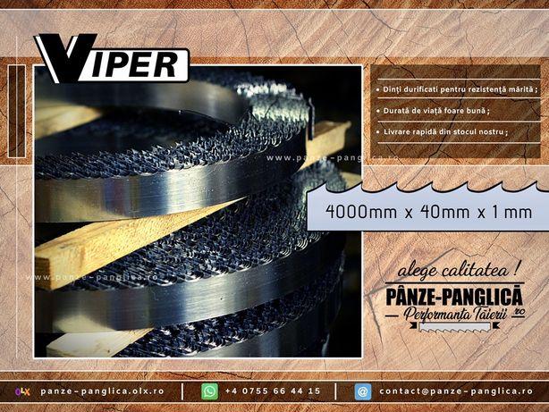 Panza panglica fierastrau banzic VIPER 4000x40x1/Lemn I Premium SILVER