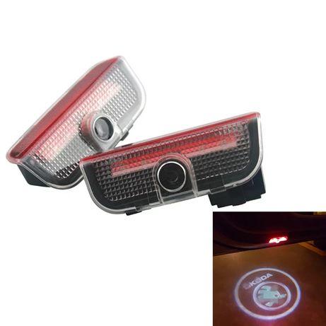 Holograme dedicate pentru portiere Skoda Superb