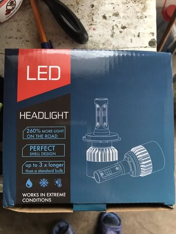Becuri H7 cu LED