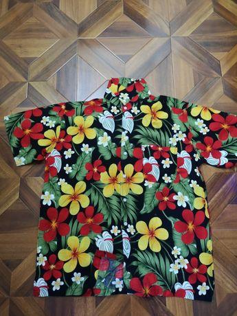 cămăși hawaii inflorata