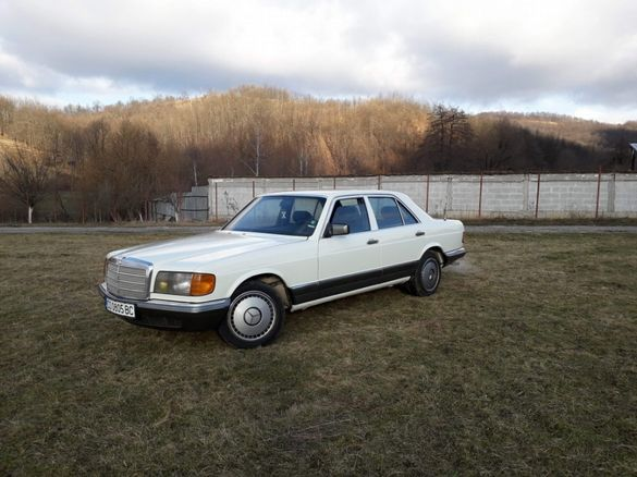 Mercedes s class w126 пура