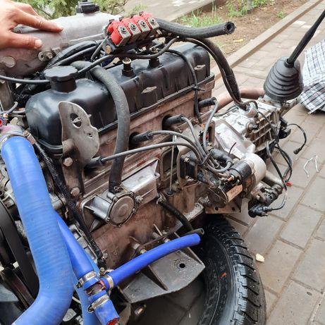 Двигатель от Газель пробег 80.000 состояние отличное без вложении