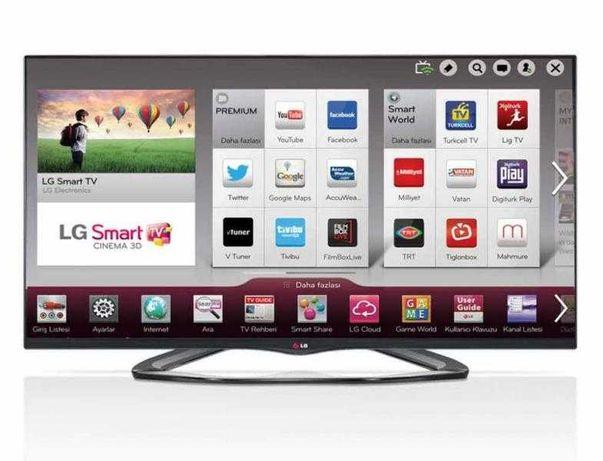 Smart tv LG LA 660 S 3D 119cm