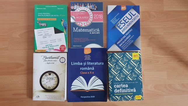 Culegeri de bacalaureat Romana, Matematica si Biologie