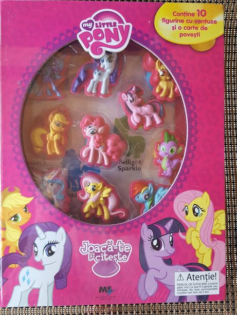 Set My Little Pony : carte si 10 figurine