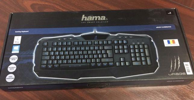 Tastatură NOUA pt.gameri - Hama uRAGE, taste iluminate LED.