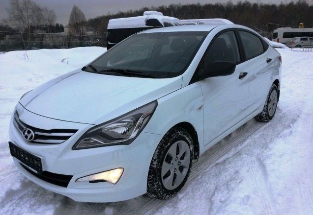 Бампер на Hyundai Accent 2014