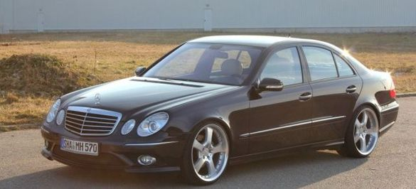 Mercedes E 270 CDI 2003 на части