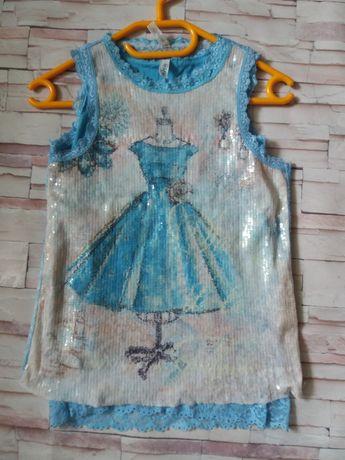 Пакет вещей (платье , бриджи, маечки)