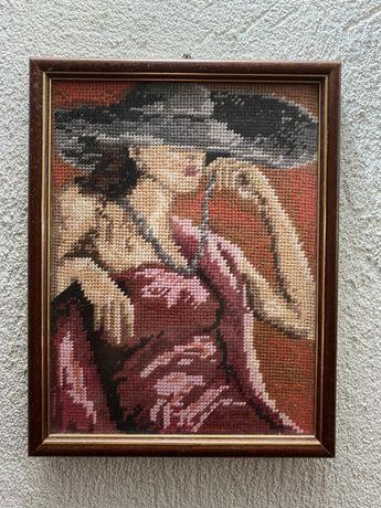 Гоблен Жена с шапка