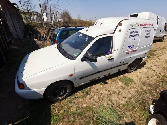 Volkswagen Caddy 1.9D На Части!!!