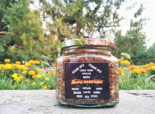 Натуральный мед с 14 ингредиентами