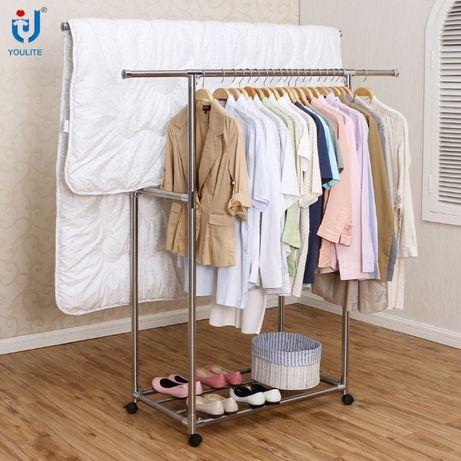 Вешалка для одежды напольная гардеробная YOULITE YLT-0321A в Алматы