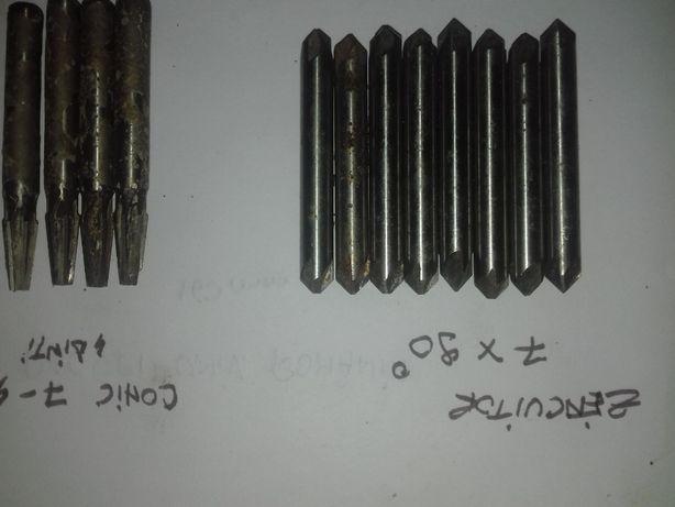 Zencuitori / conice / lemn / 2x cap