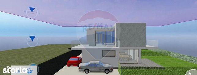 Vilă individuală de vânzare-Petrești-Corbeanca-la lac/imobil nou 2021