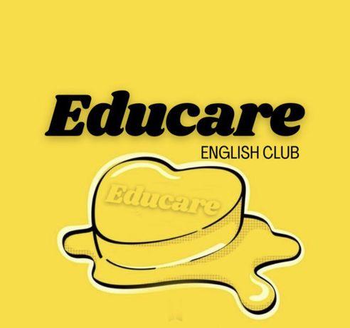 Английский язык, занятия в группе