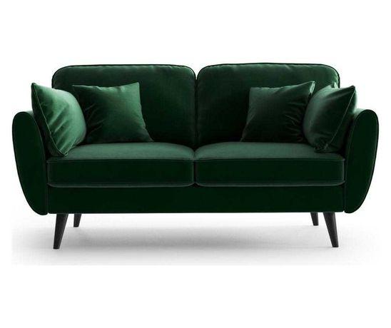 Canapea 2 locuri Auteuil Uni Emerald Green