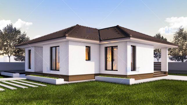 Casa plan parter Albota