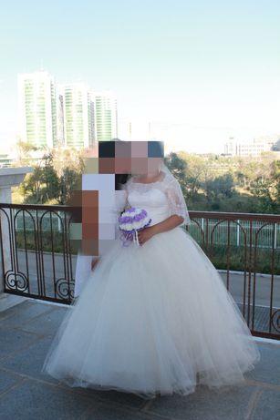 Продам свадебный платье