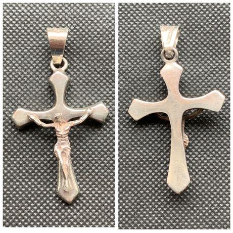 Cruce/cruciulita din argint vechi 925 masiv