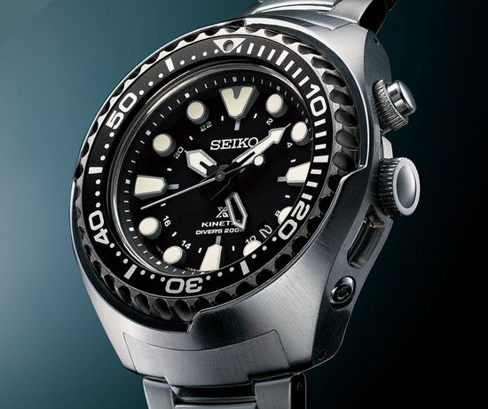 Seiko kinetic special edition