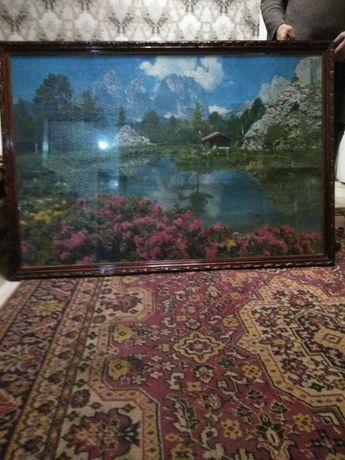 Картина ручной работы из пазлов