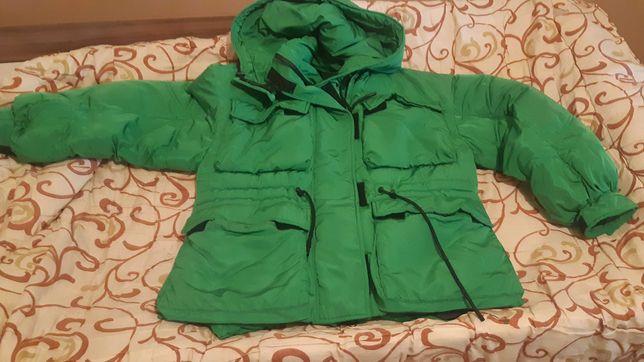 Куртки зимние б/у в хорошем состоянии