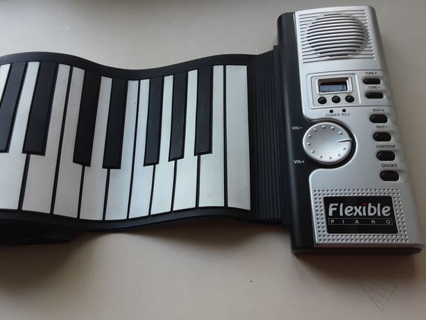 Клавиатура фортепиано гибкая