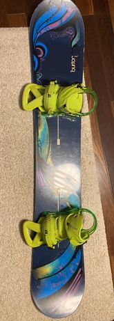 Snowboard Burton Feelgood 154+ Leg Custom EST